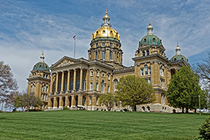 Des Moines, Iowa State Capital